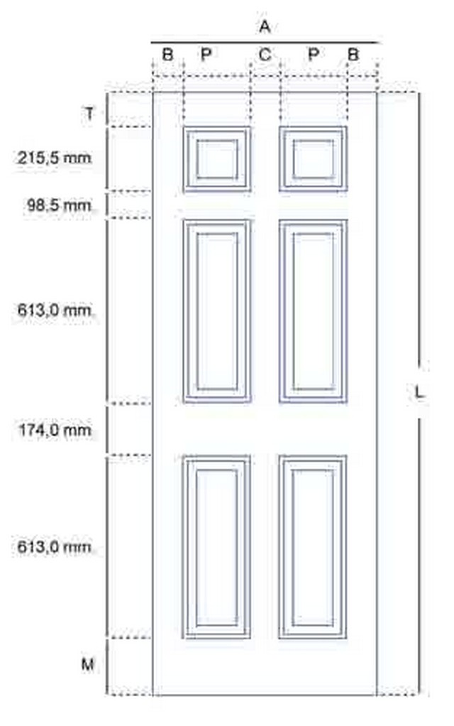 Door Frame: Standard Door Frame Height