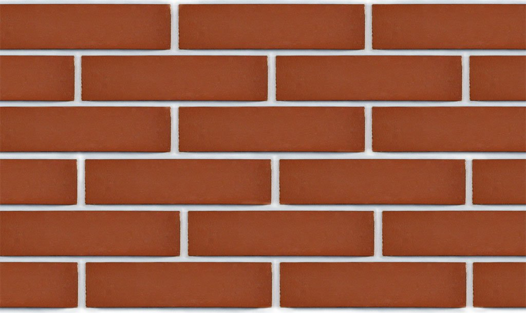 Red brick ceramic tile
